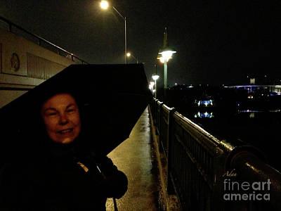 Photograph - Self Portrait 12 - Sheila New Years Eve Austin by Felipe Adan Lerma