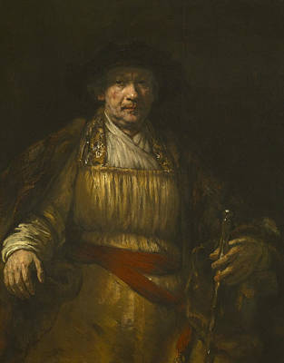 Painting - Self-portrait, 1658 by Rembrandt
