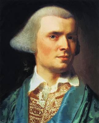 Painting - Self Portrait 1769 by Copley John Singleton