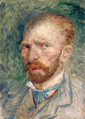 Retro Portret Painting - Self-portrait 2, 1887 by Vincent Van Gogh