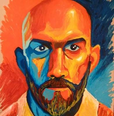 Painting - Self Portrait 2 by Angel Reyes