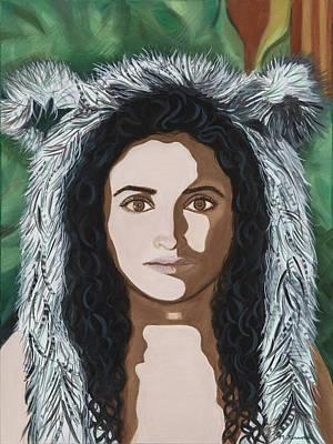 Painting - Self Portrait #2 by Meniyka Kiravell