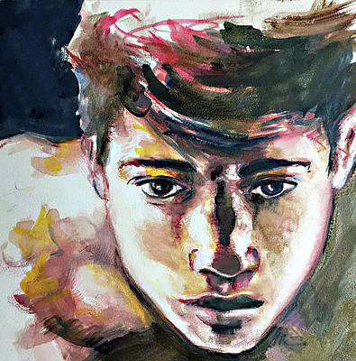 Painting - Self Portrait 2016 by Rene Capone