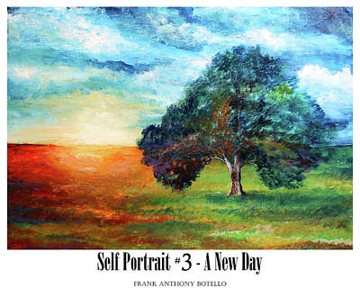 Painting - Self Portrait #3 A New Day II by Frank Botello