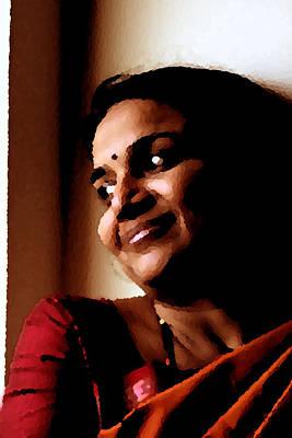 Photograph - Self Portrait by Asha Sudhaker Shenoy