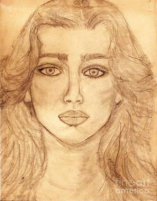 Self Portrait - Earlier Years Original