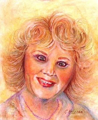 Painting - Self-portrait by Carol Allen Anfinsen
