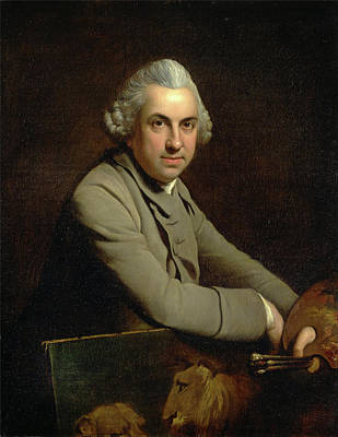 Charles Catton Painting - Self-portrait by Charles Catton