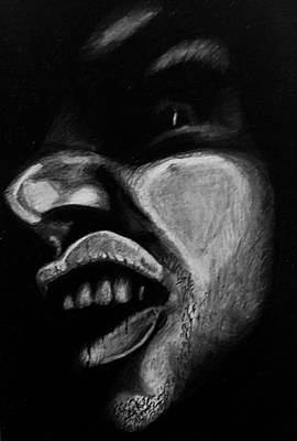 Xerox Drawing - Self Portrait by Cody Cole