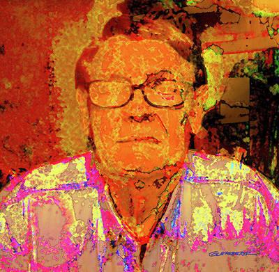 Self-portrait Digital Art - Self-portrait by Dean Gleisberg