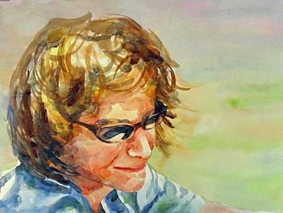 Painting - Self-portrait by Diane Fujimoto