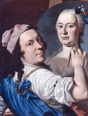 Gennaro Basile Painting - Self-portrait by Gennaro Basile