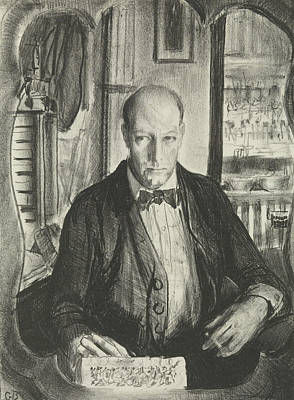 Relief - Self-portrait by George Bellows