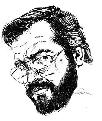 Self-portrait Drawing - self Portrait by Harold Shull