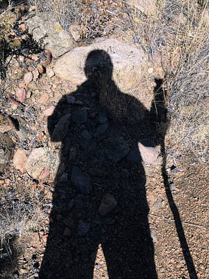 Photograph - Self Portrait Hiker by Kevin Callahan