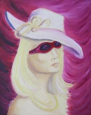 Self Portrait In Las Vegas Art Print
