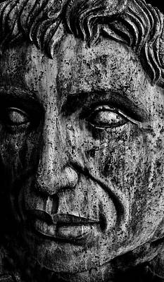 Photograph - Self Portrait In Stone by Brian Sereda