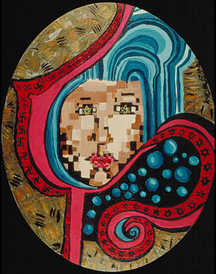 Self Painting - Self Portrait by J Andrel