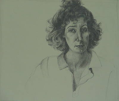 Drawing - Self-portrait by Jackie Hoats Shields