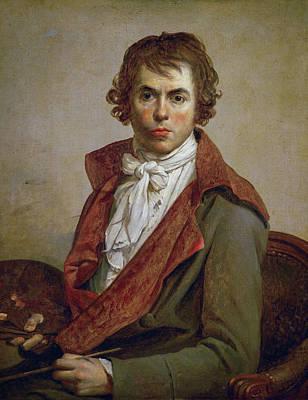 David Painting - Self-portrait by Jacques-Louis David