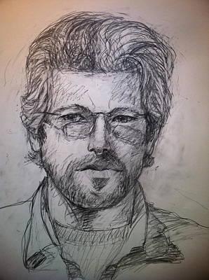 Self Portrait Art Print by Jeff Levitch