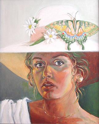 Painting - Self Portrait by JoAnne Castelli-Castor