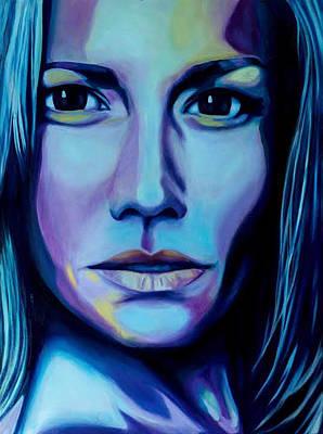 Self-portrait Mixed Media - Self Portrait by Keely Spell