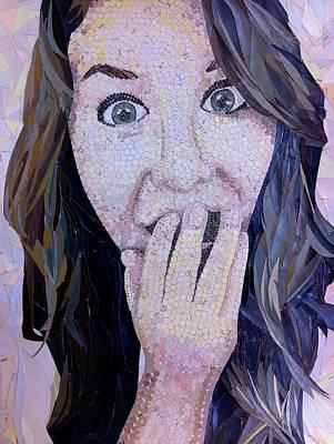 Self-portrait Mixed Media - Self-portrait by Lauren Willson