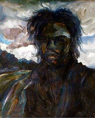 Painting - Self Portrait by Lord Toph