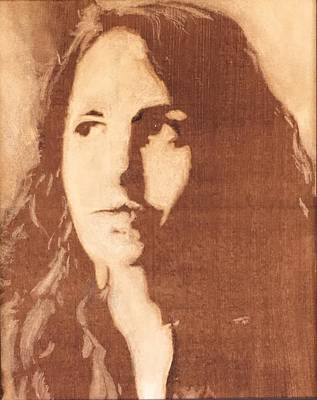 Self Portrait Original by Meigan Parrish