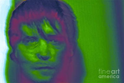 Art Print featuring the photograph Self Portrait Number 1 by Xn Tyler