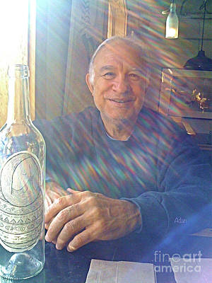 Rights Managed Images Photograph - Self Portrait One - Light Through The Window by Felipe Adan Lerma