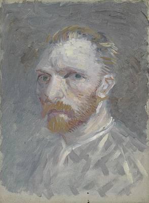 Painting - Self-portrait Paris, July   August 1887 Vincent Van Gogh 1853  1890 by Artistic Panda