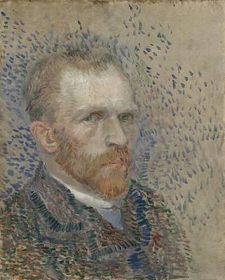 Painting - Self-portrait Paris, March  June 1887 Vincent Van Gogh 1853  1890 by Artistic Panda