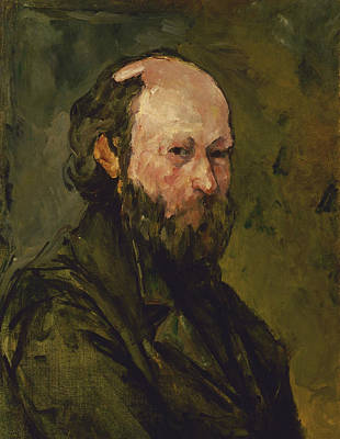 Painting - Self Portrait  by Paul Cezanne