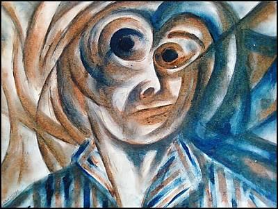 Self-portrait  Art Print by Paulo Zerbato
