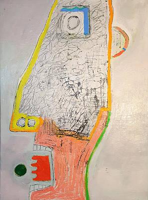 Painting - Self Portrait by Radoslaw Zipper