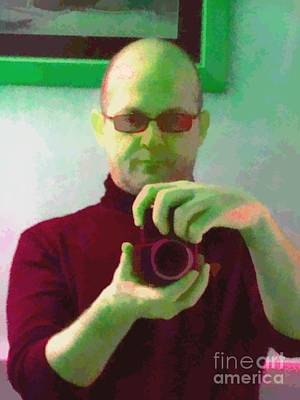Artworkx Of Mann Painting - Self Portrait by Roberto Edmanson-Harrison