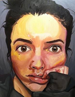 Self-portrait Original by Tara Nelson