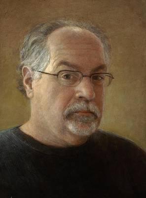 Painting - Self Portrait by Wayne Daniels