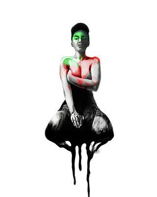 Digital Art - Self Xoxo by AC Williams