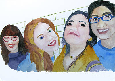 Painting - Selfie by Sandy McIntire