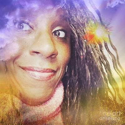 Photograph - Selfies Portrait  by Charita Padilla