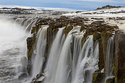 Photograph - Selfoss Waterfall by Arterra Picture Library