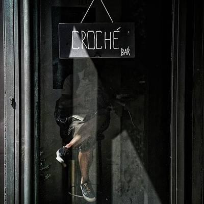Reflection Wall Art - Photograph - Selfportrait At Croché by Rafa Rivas