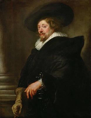 Hat Painting - Selfportrait by Peter Paul Rubens