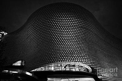 Selfridge Photograph - Selfridges Building At Night Birmingham Bullring England Uk by Joe Fox
