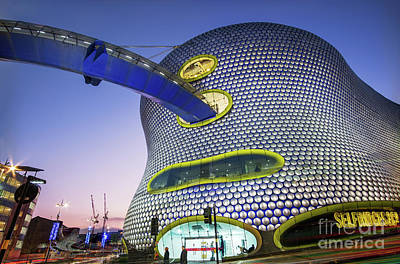 Selfridge Photograph - Selfridges And Co, Bullring, Birmingham by Martin Williams