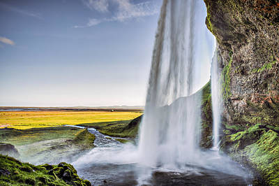 Photograph - Seljalandsfoss by Brad Grove