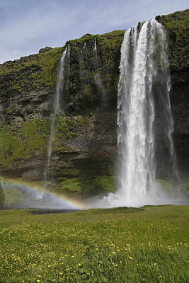 Photograph - Seljalandsfoss by Michele Burgess